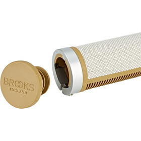 Brooks Cambium Rubber Grips kort/kort natural/rubber